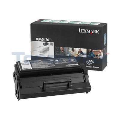LEXMARK E320 TONER CARTRIDGE BLACK RP